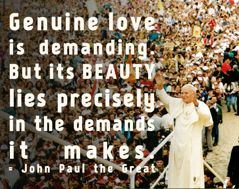 JPII Demanding Love