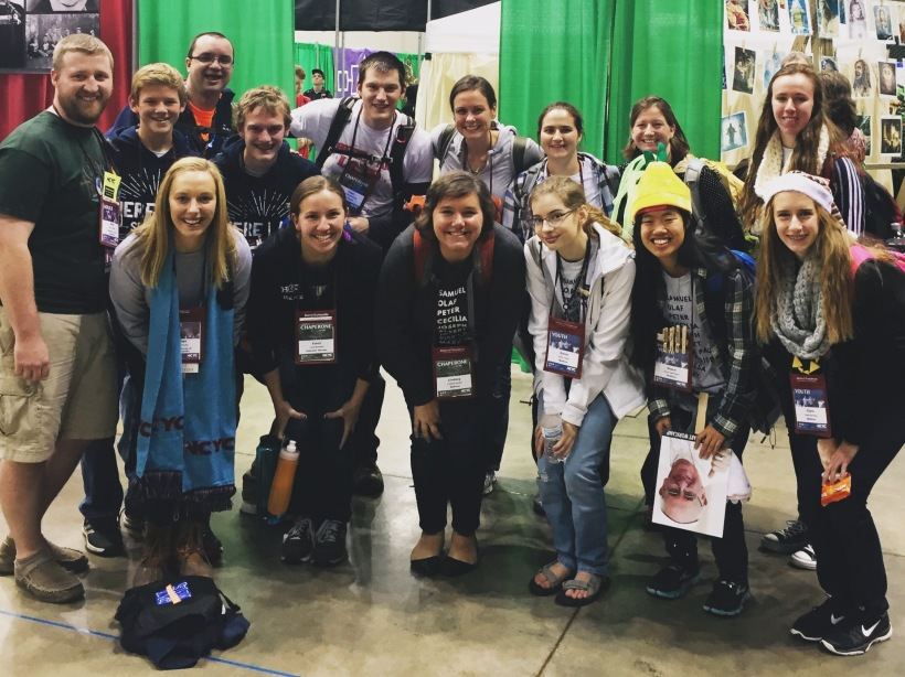 Camp Gray Alumni photo at NCYC!